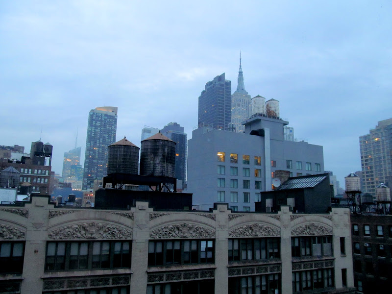 Photo: Morning view from the hotel