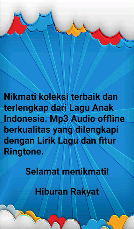 Download Lagu Anak Indonesia (Offline + Lirik + Ringtone