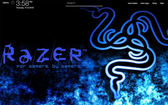 Razer Wallpapers FullHD New Tab