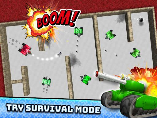 TankHit - 2 Player Tank Wars screenshots 3