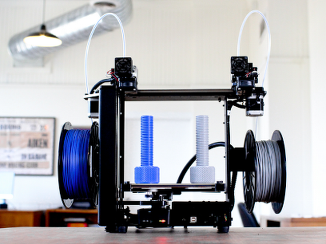 The MakerGear M3 Dual Extrusion 3D Printer