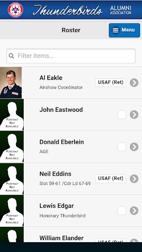 Thunderbirds Alumni Mobile Screenshot