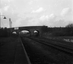 Photo: Charlbury looking forlorn, from the old down platform (1972)