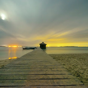 Silent Island by Arie Sudharisman II - Landscapes Waterscapes