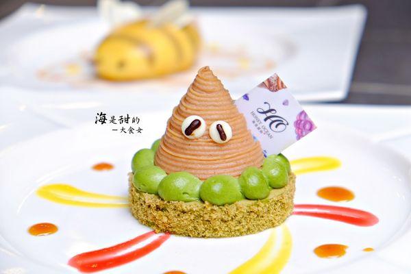 海是甜的-萌翻天的寄居蟹跟蜜蜂先生!太可愛了!還有粉嫩粉嫩的母親節蛋糕!:D 永和甜點/永和下午茶/客製化蛋糕/生日蛋糕/台北不限時咖啡廳
