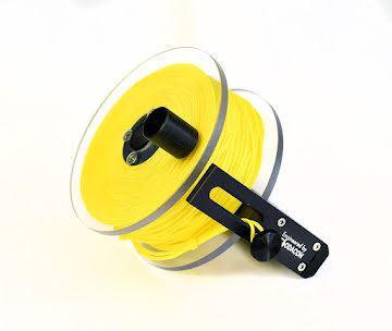 REEL ARES CAVE 100 MTRS (YELLOW LINE)