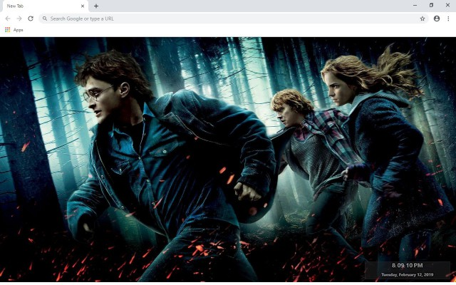 Harry Potter New Tab & Wallpapers Collection