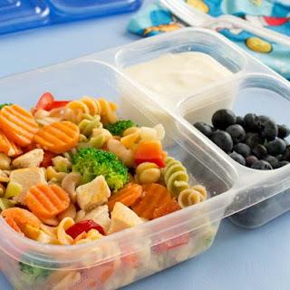 Freezer Pasta Salad