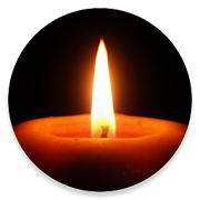 Red Candle+  Icon