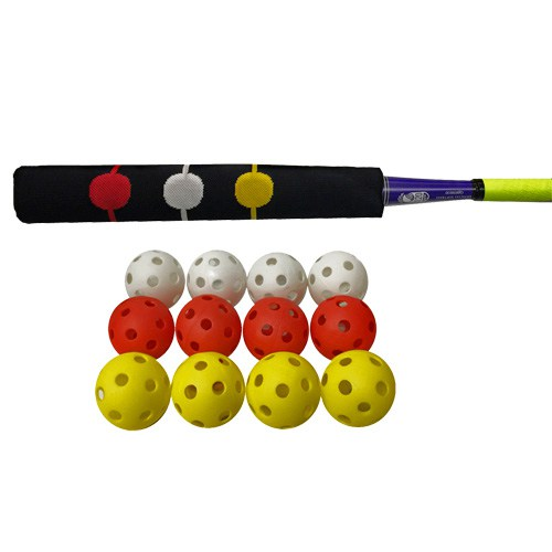 Bunt Sock with One Dozen Wiffle Balls