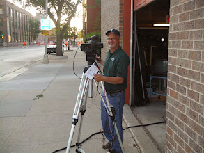 Photo: Days 29, 30, 31 Mitchell and Sioux Falls SD KSFY Camera Man Jeff