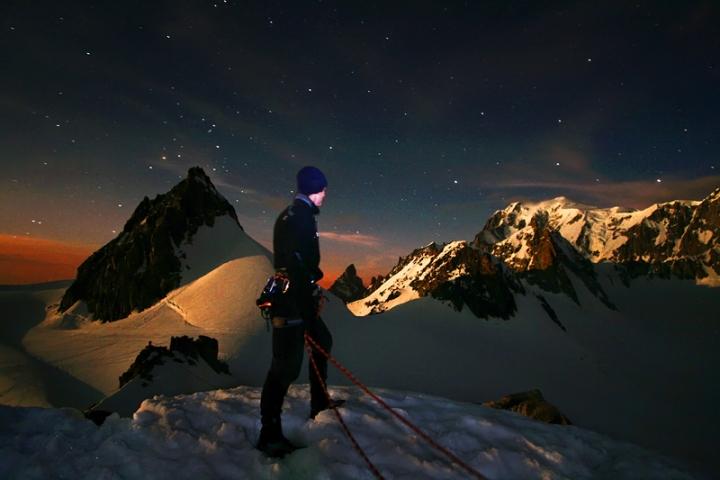 Uno sguardo sul monte Bianco di Yanez