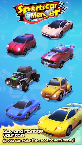 Sports Car Merger 2.5 screenshots 5