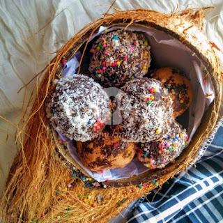 Choco Coconut Truffles
