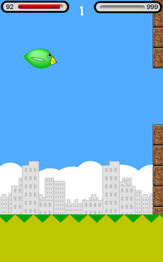 Funny Fat Bird- screenshot