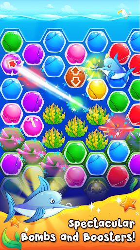 Pearl Paradise - Hexa Match 3  screenshots 3