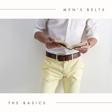 Men's Belts - Instagram Post Template