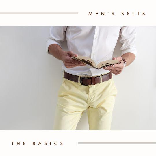 Men's Belts - Instagram Post Template