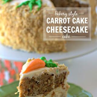 Carrot Cake Cheesecake Cake - a Cheesecake Factory Copycat.