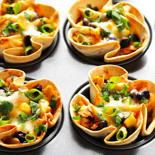 Easy Enchilada Cups.