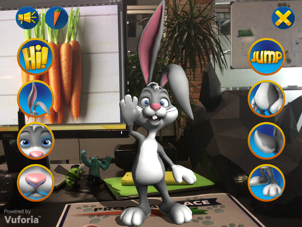 ARchy The Rabbit - AR for kids- screenshot