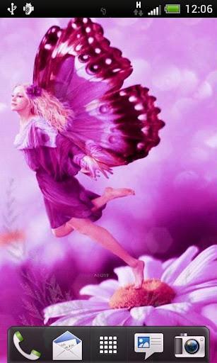 Daisy Fairy Live Wallpaper