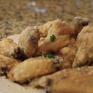 Wingstop Garlic Parmesan Wings.