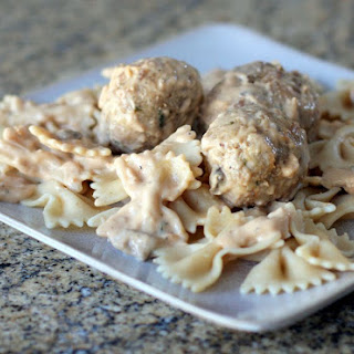 Light Swedish Meatballs With Milk Gravy.