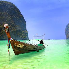 Maya Bay by Maynard Caryabudi - Travel Locations Landmarks