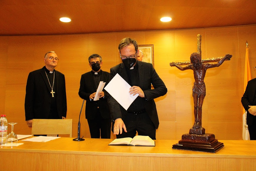 Juramento del vicario general y moderador de la Diócesis.