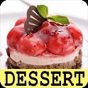 Dessert recipes free app offline with photo. icon