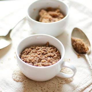 1-Minute Coffee Cake in a Mug Recipe
