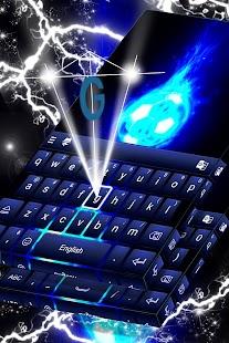 Sportovní klávesnice Neon Téma - náhled