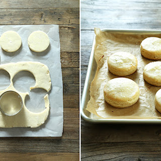 Tender and Flaky Gluten Free Ricotta Biscuits.