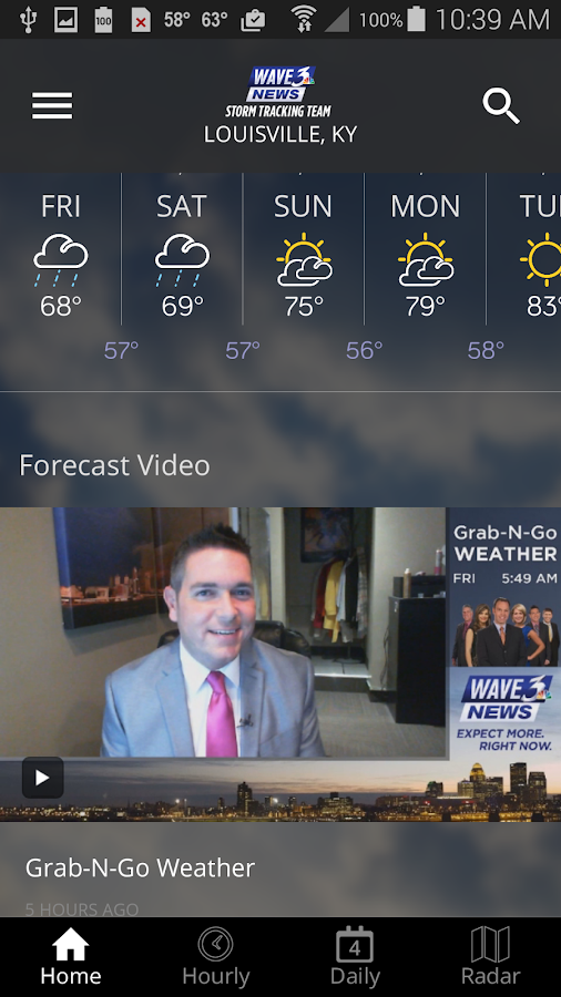 WAVE 3 Louisville Weather- screenshot