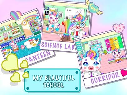Mini Town: Unicorn School Mod Apk (Full Unlocked + No Ads) 3
