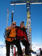 Photo: Na vrcholu druhé nejvyšší hory Rakouska