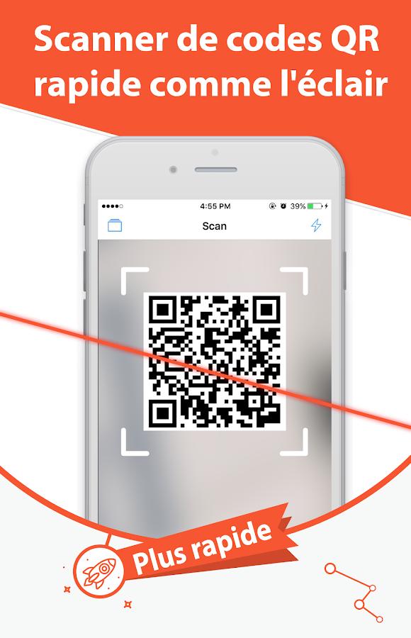 qr code scanner gratuit applications android sur google play. Black Bedroom Furniture Sets. Home Design Ideas