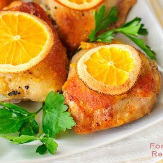 Easy Grilled Orange Chicken.