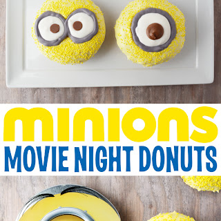 Minions Movie Night Donuts
