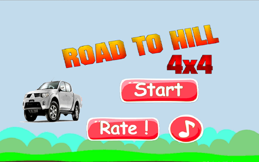 3D Car : Road To Hill