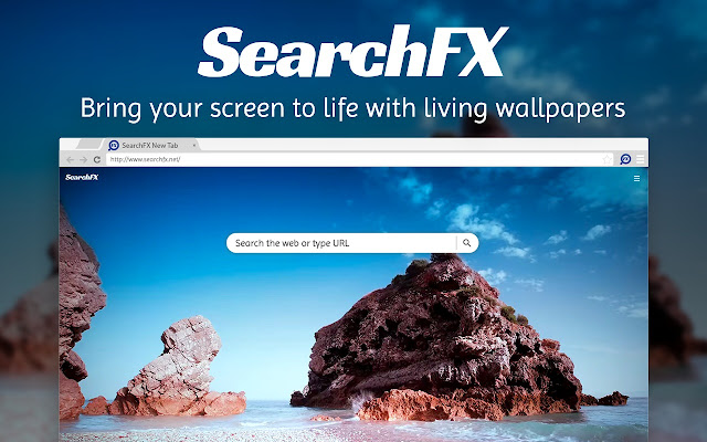 SearchFX New Tab