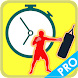"""Battery friendly "" Boxing timer PRO"
