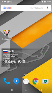 2017 Formula Countdown Widget screenshot 0