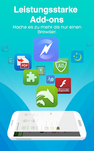 Dolphin Browser für Android 🐬 Screenshot