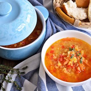 Gabby's Winter Lentil Soup