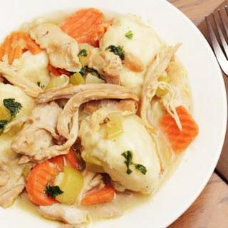 Irish Chicken and Dumplings.