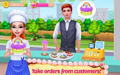 My Bakery Empire - Bake, Decorate & Serve Cakes screenshot 2