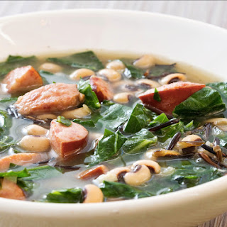 Slow-Cooker Southern Black-Eyed Pea Soup.