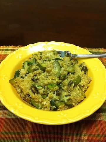 Zucchini and Quinoa medley